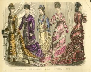 Godeys fashions 1878